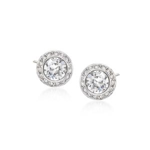 SWAROVSKI~halo~CRYSTAL STUD EARRINGS